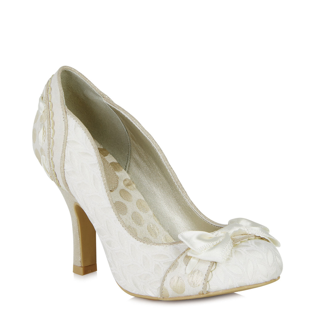 AMY 09085 RUBY SHOO-Ladies-RUBY SHOO-CREAM-38 = 5UK-Logues Shoes