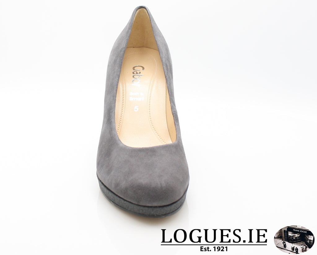 GAB 91.270LadiesLogues Shoes39 Carbone / 5½