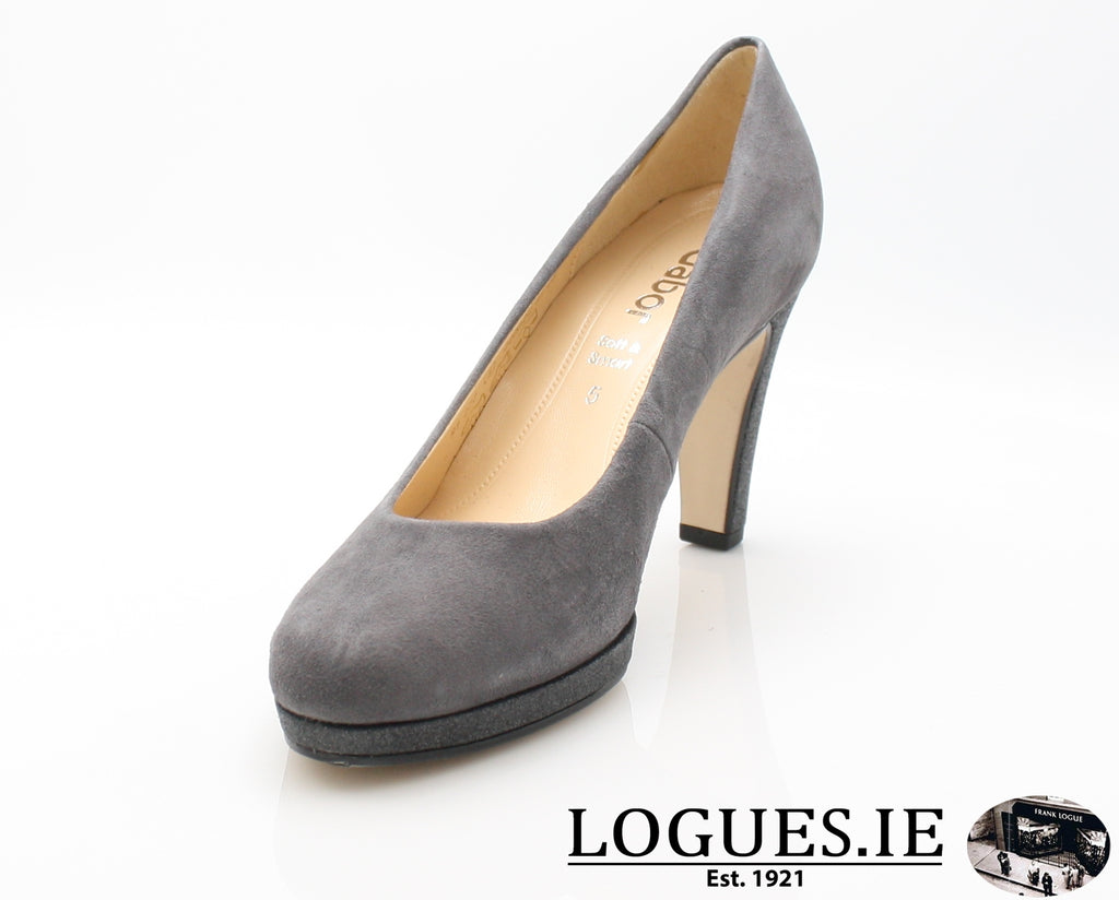 GAB 91.270LadiesLogues Shoes39 Carbone / 8