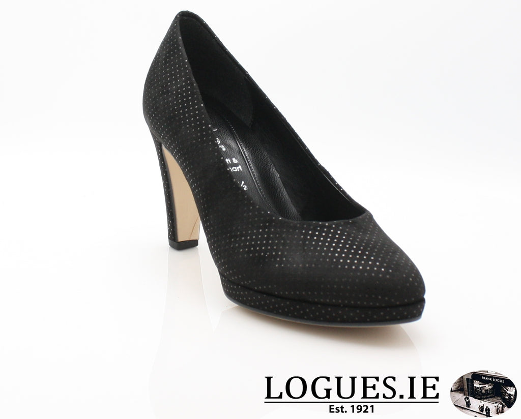 GAB 91.270LadiesLogues Shoes50 Schwarz / 7½