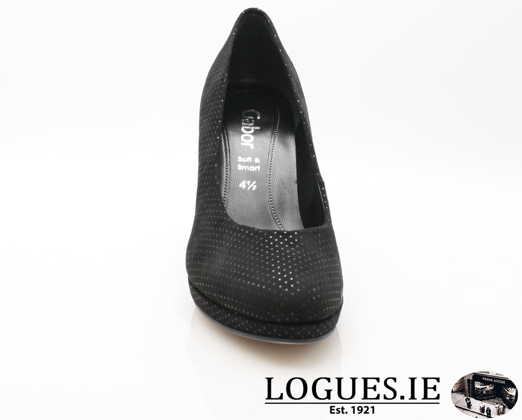 GAB 91.270LadiesLogues Shoes50 Schwarz / 5½