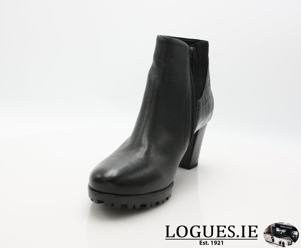 GABOR 92.861LadiesLogues Shoes17 Schwarz (Micro) / 4½