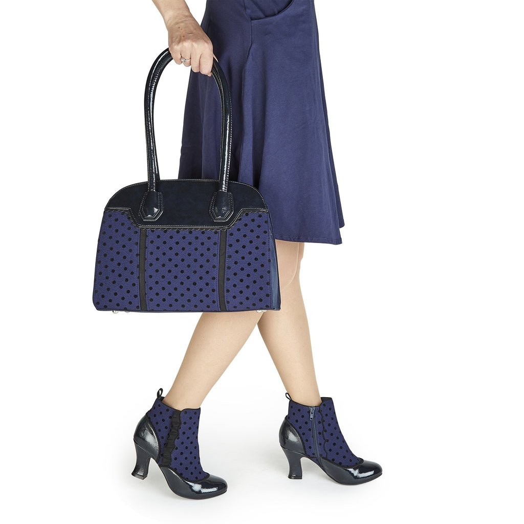 ANTOINETTE RUBY SHOO 19LadiesLogues ShoesBLUE SPOTS / 3 UK- 36 EU - 5 US