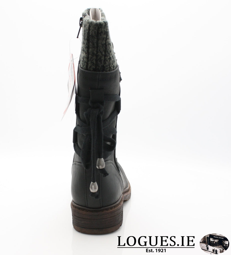 RKR 94773LadiesLogues Shoesschwarz/black-gre 00 / 43