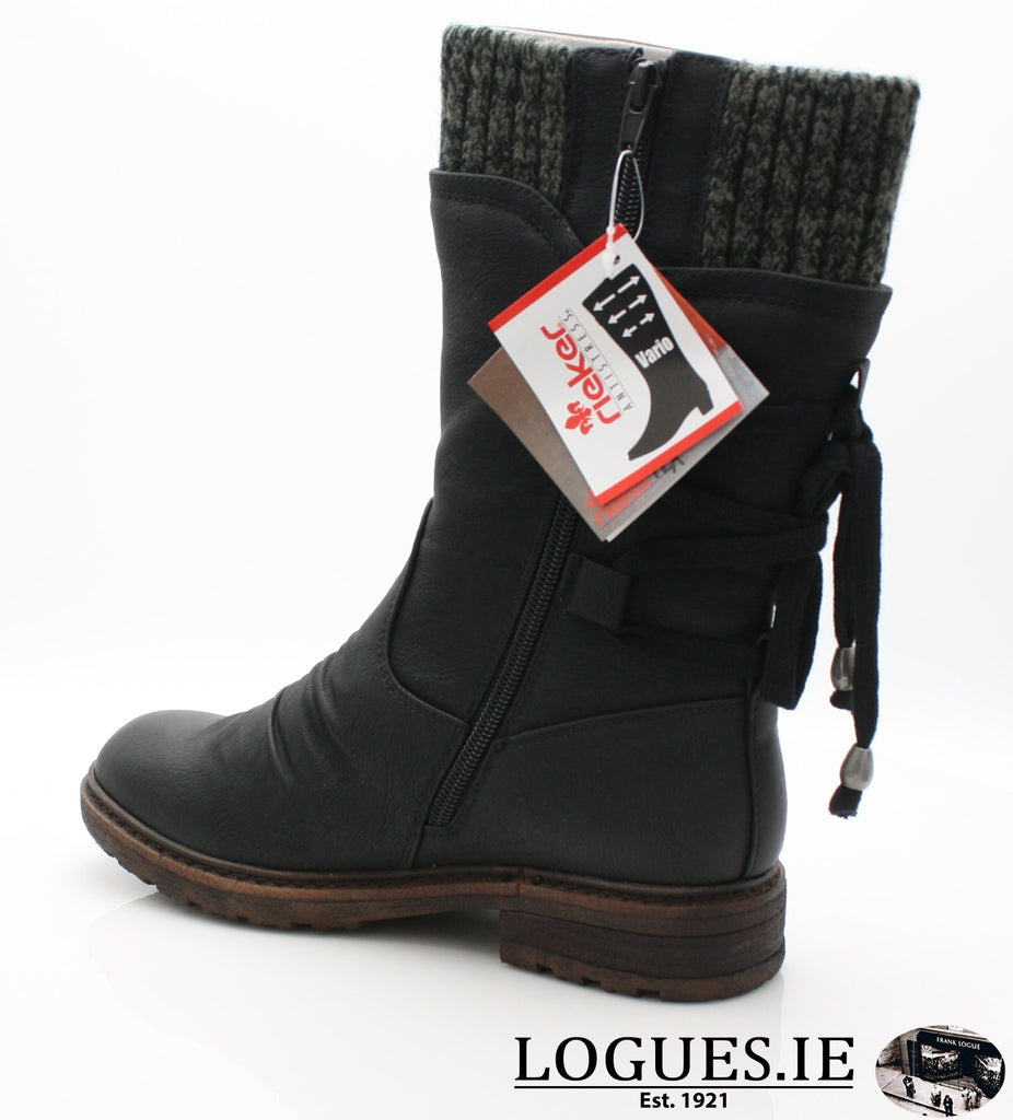 RKR 94773LadiesLogues Shoesschwarz/black-gre 00 / 42