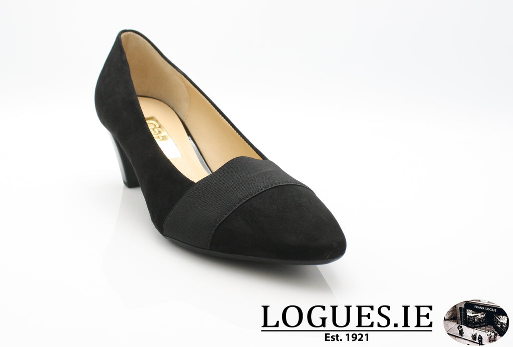 GAB 95.141LadiesLogues Shoes17 Schwarz / 3½
