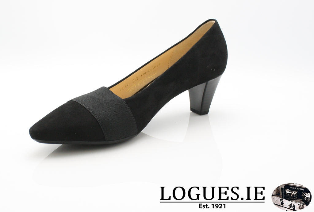 GAB 95.141LadiesLogues Shoes17 Schwarz / 5