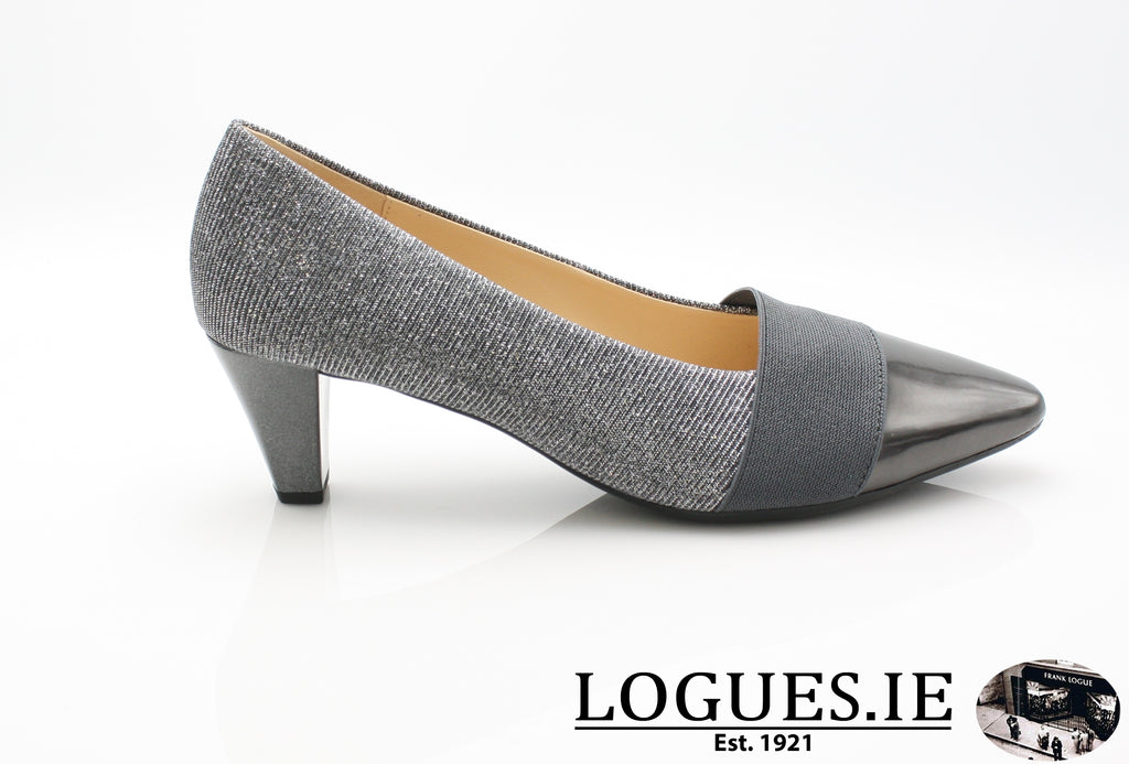 GAB 95.141-Ladies-Gabor SHOES-67 Argento/Shadow-2½-Logues Shoes
