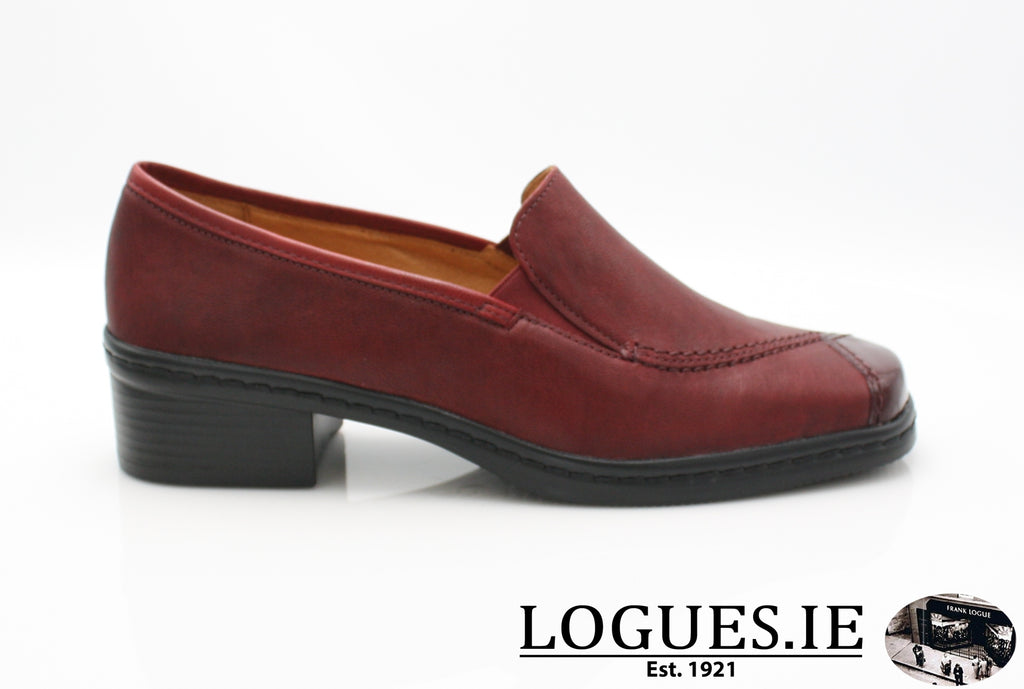GAB 96.026-Ladies-Gabor SHOES-28 Dark-Red-9½-Logues Shoes