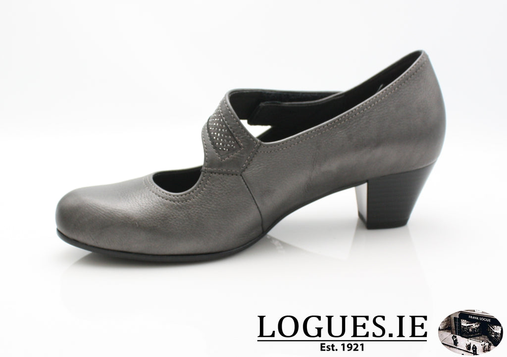 GAB 96.147-Ladies-Gabor SHOES-89 Grey (Strass)-2½-Logues Shoes