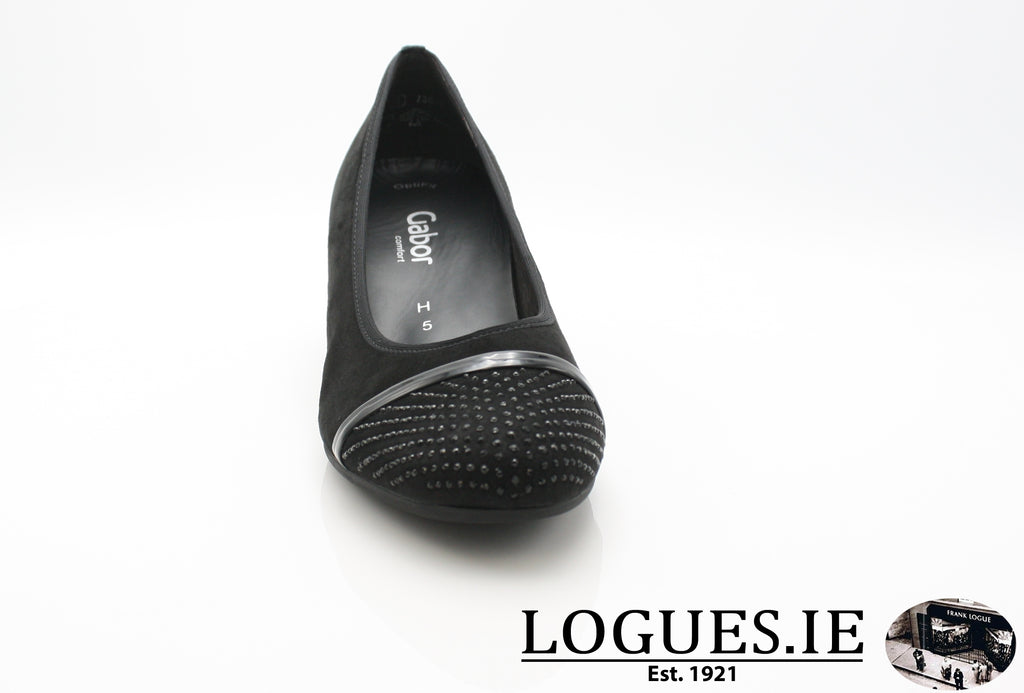 GAB 96.183LadiesLogues Shoes47 Schwarz / 4