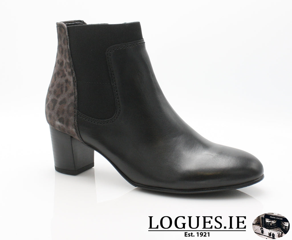 GAB 96.581-Ladies-Gabor SHOES-67 Schw/Anthr.(Micro-2½-Logues Shoes