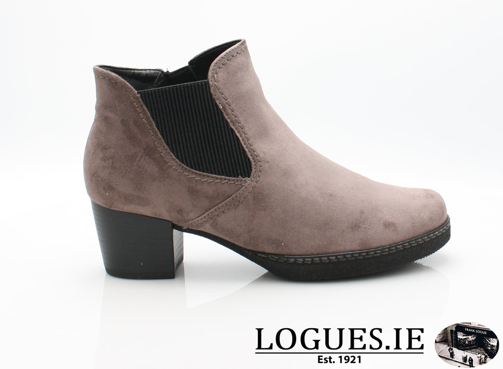 GAB 96.661-Ladies-Gabor SHOES-42 Dust (S.S/A.S/Mic-4-Logues Shoes