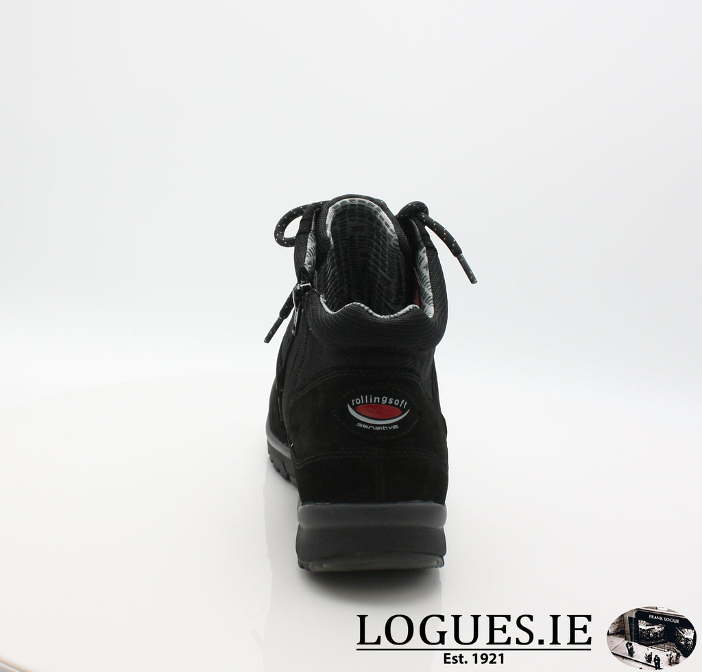 GAB 96.935LadiesLogues Shoes47 Schwarz (Mel.) / 7½
