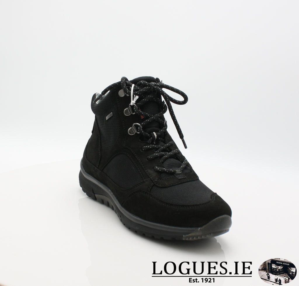 GAB 96.935LadiesLogues Shoes47 Schwarz (Mel.) / 4
