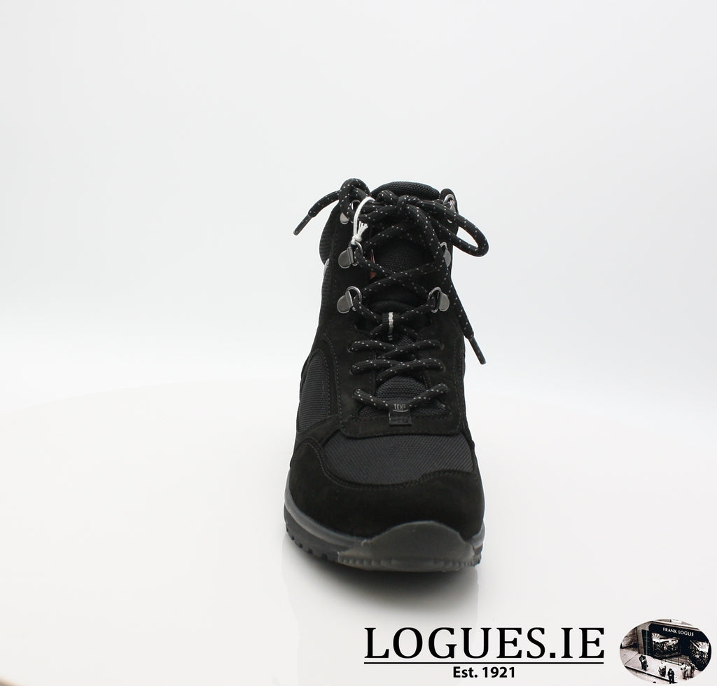 GAB 96.935LadiesLogues Shoes47 Schwarz (Mel.) / 5
