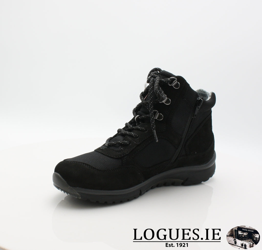 GAB 96.935LadiesLogues Shoes47 Schwarz (Mel.) / 6