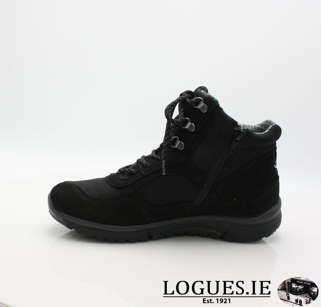 GAB 96.935LadiesLogues Shoes47 Schwarz (Mel.) / 6½