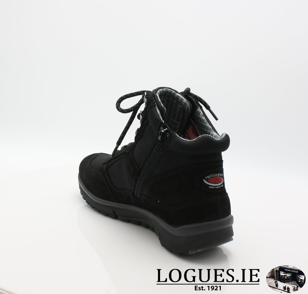 GAB 96.935LadiesLogues Shoes47 Schwarz (Mel.) / 7