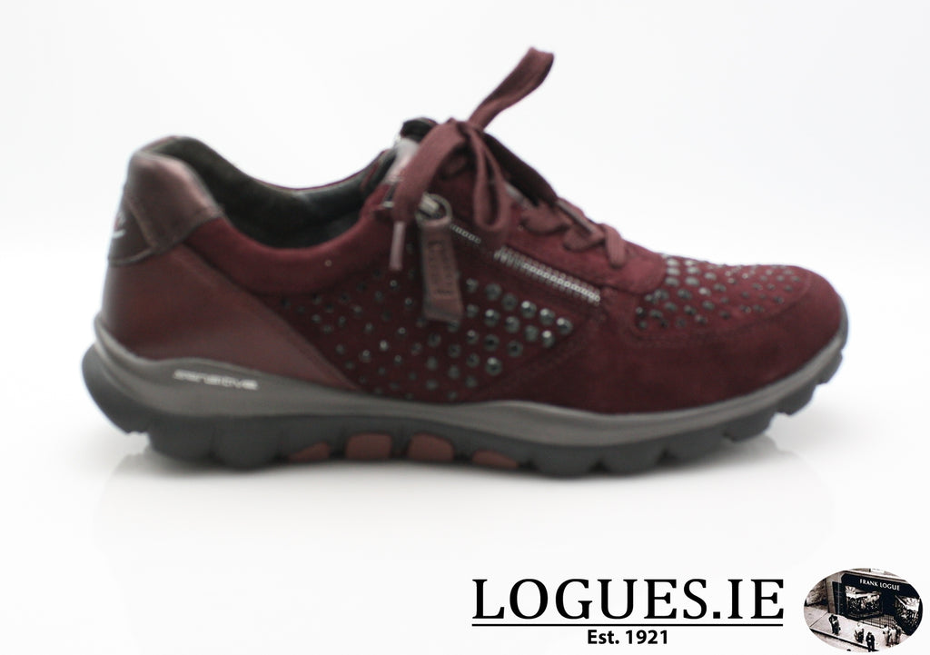 GAB 96.968LadiesLogues Shoes48 New Merlot(Strass / 2½