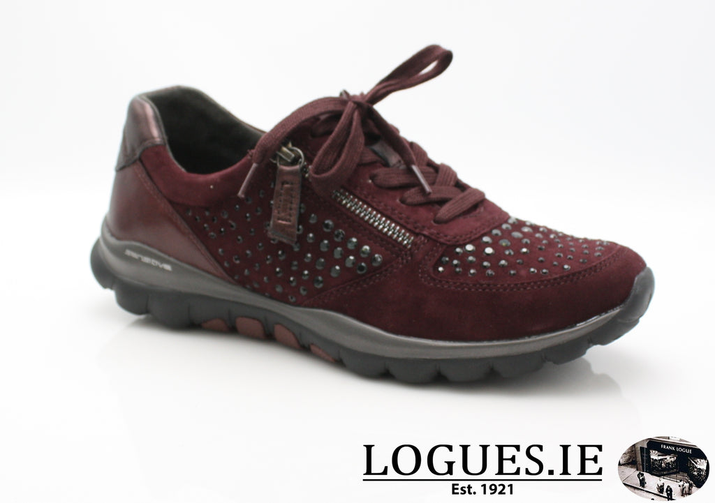 GAB 96.968LadiesLogues Shoes48 New Merlot(Strass / 3