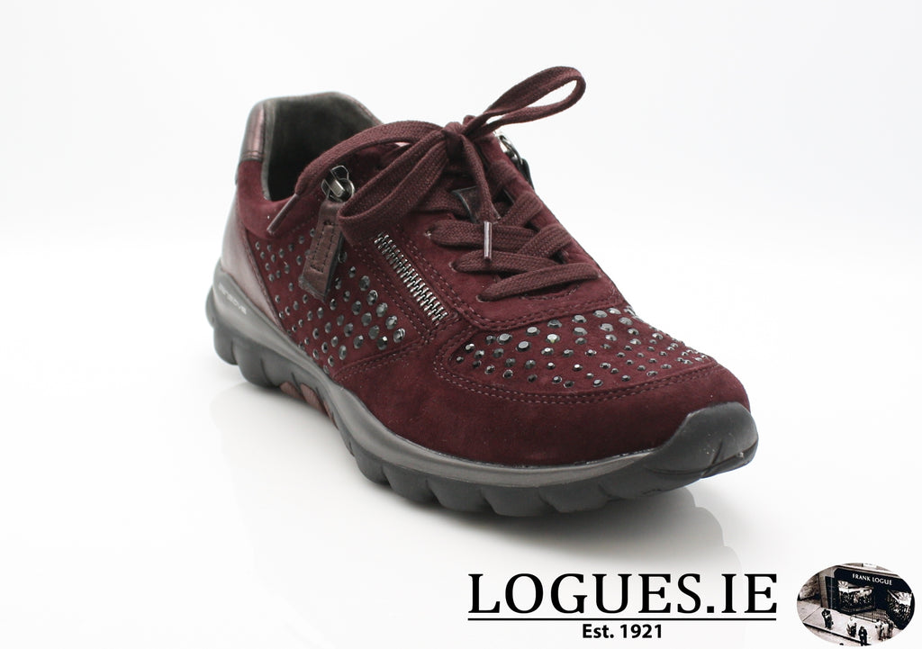 GAB 96.968LadiesLogues Shoes48 New Merlot(Strass / 3½