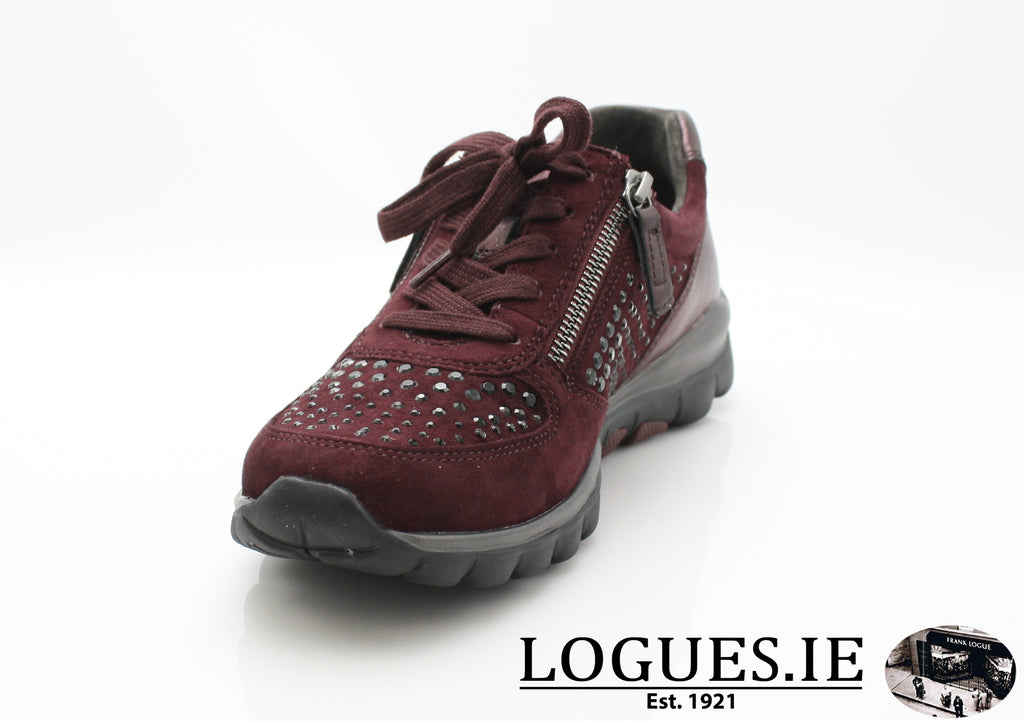 GAB 96.968LadiesLogues Shoes48 New Merlot(Strass / 4½