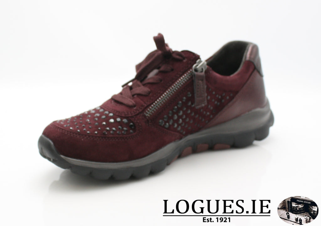 GAB 96.968LadiesLogues Shoes48 New Merlot(Strass / 5