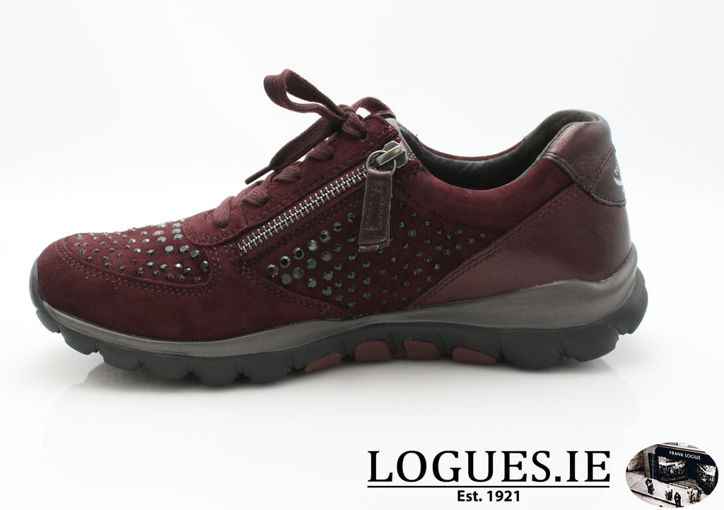 GAB 96.968LadiesLogues Shoes48 New Merlot(Strass / 5½