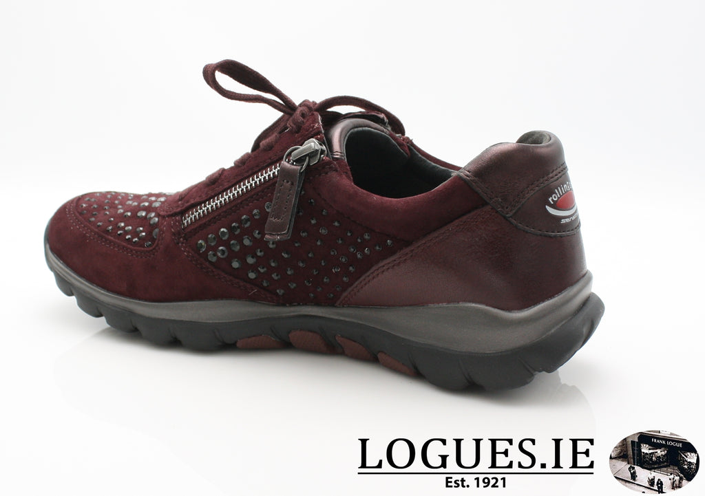 GAB 96.968LadiesLogues Shoes48 New Merlot(Strass / 6