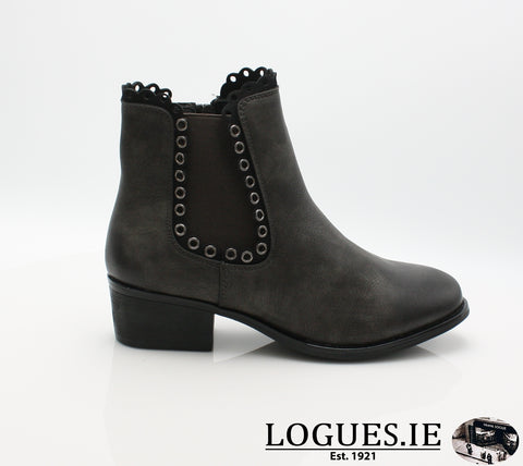 RKR 98681LadiesLogues Shoesbasal/schw 45 / 36