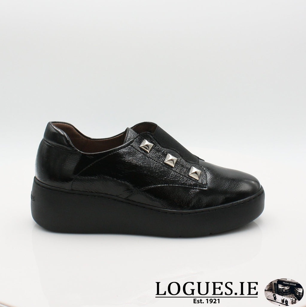 A8334 WONDERS 19COMFORT CASUALLogues ShoesNEGRO / 3 UK- 36 EU - 5 US
