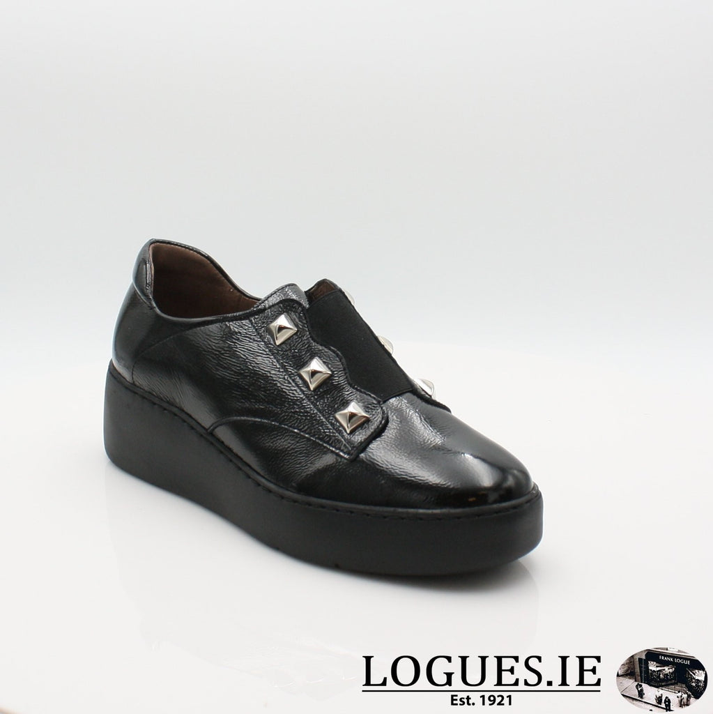A8334 WONDERS 19COMFORT CASUALLogues ShoesNEGRO / 4 UK -37 EU - 6 US