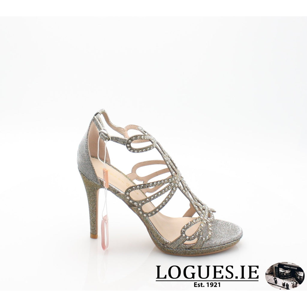V18206 ALMA EN PENALadiesLogues ShoesNOIR PEWTER / 37 = 4 UK