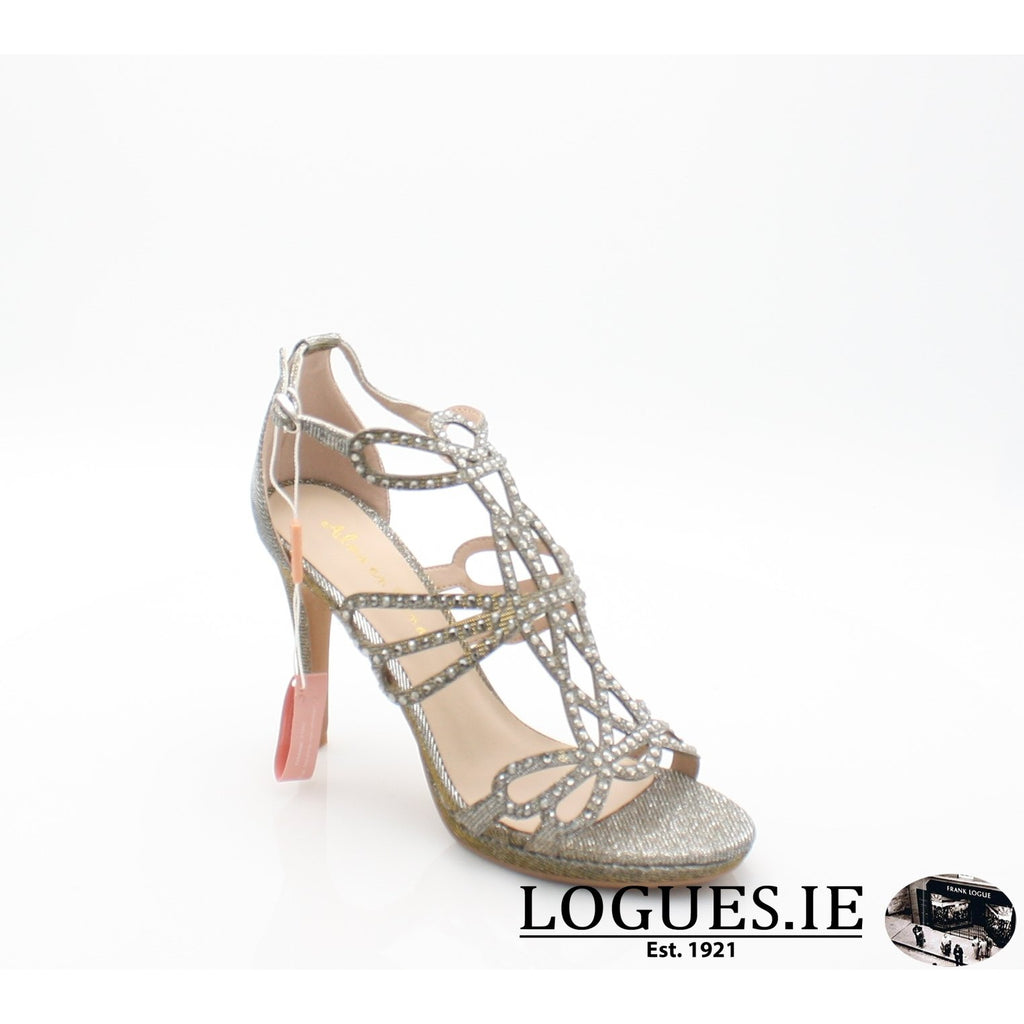 V18206 ALMA EN PENALadiesLogues ShoesNOIR PEWTER / 38 = 5UK