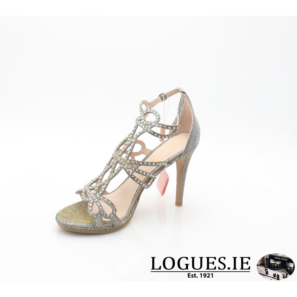 V18206 ALMA EN PENALadiesLogues ShoesNOIR PEWTER / 41 = 7 UK