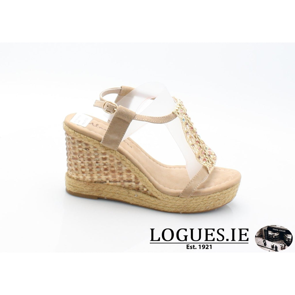 V18372 ALMA EN PENA-Ladies-ALMA EN PENA-SUEDE SAND-37 = 4 UK-Logues Shoes