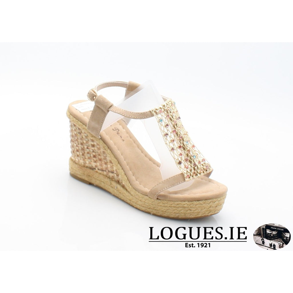 V18372 ALMA EN PENA-Ladies-ALMA EN PENA-SUEDE SAND-38 = 5UK-Logues Shoes