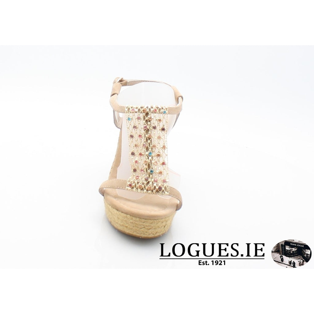V18372 ALMA EN PENALadiesLogues ShoesSUEDE SAND / 39 = 6 UK