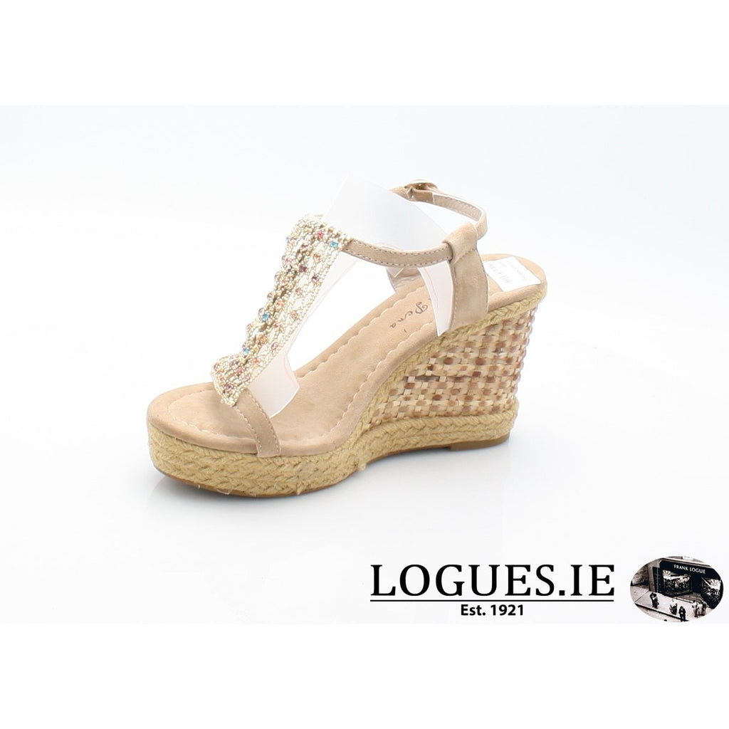 V18372 ALMA EN PENALadiesLogues ShoesSUEDE SAND / 41 = 7 UK