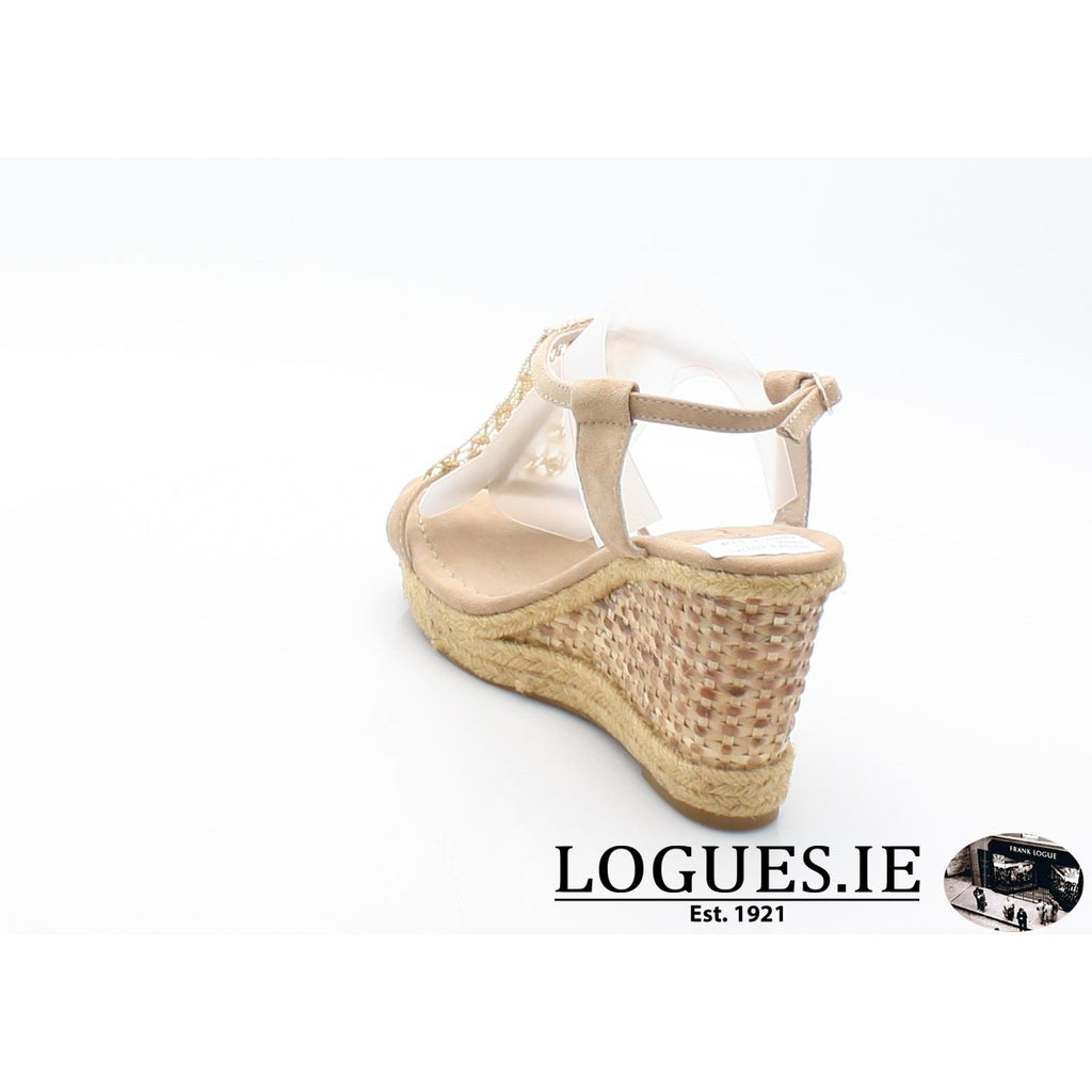 V18372 ALMA EN PENALadiesLogues ShoesSUEDE SAND / 42 = 8 UK
