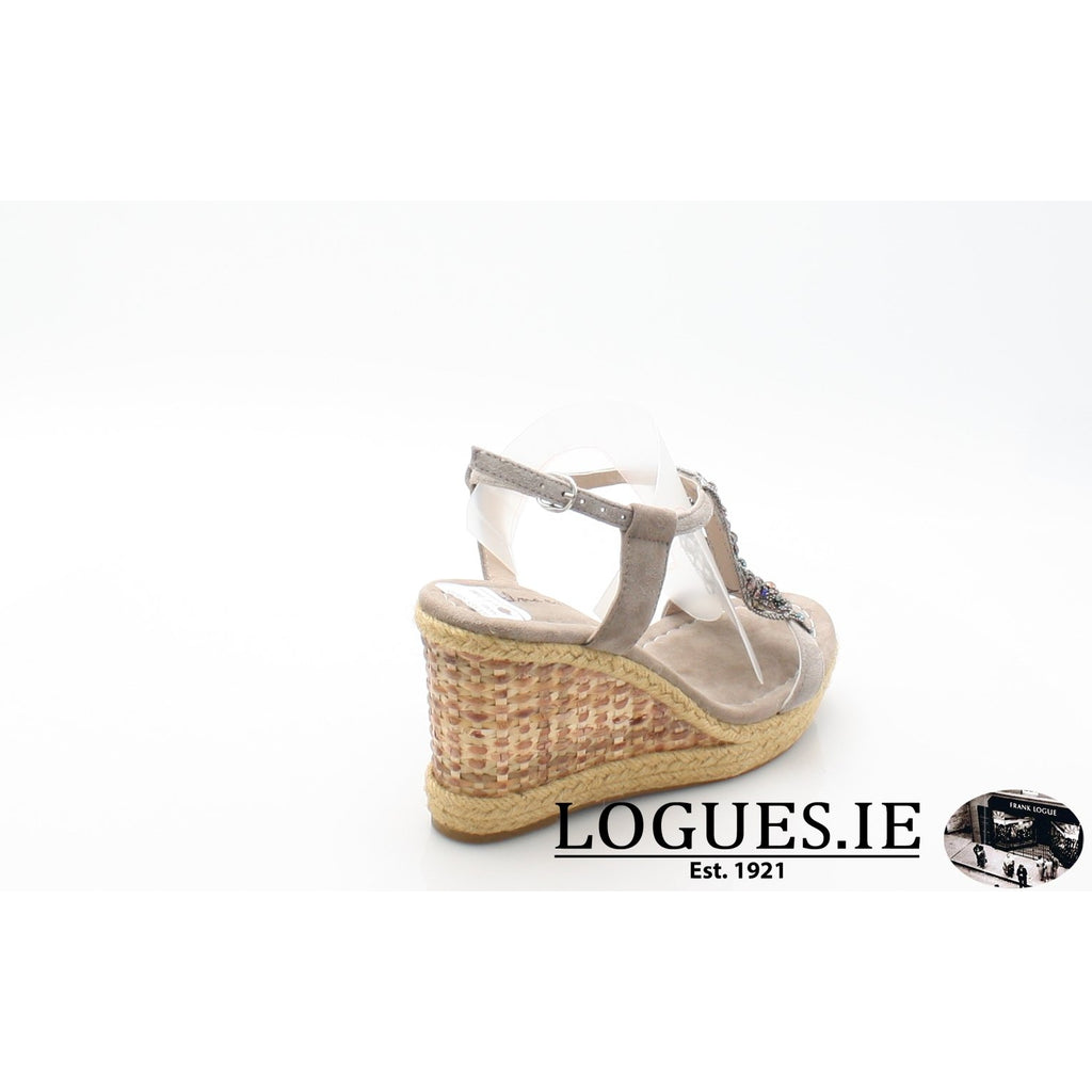 V18372 ALMA EN PENALadiesLogues ShoesSUEDE TAUPE / 42 = 8 UK