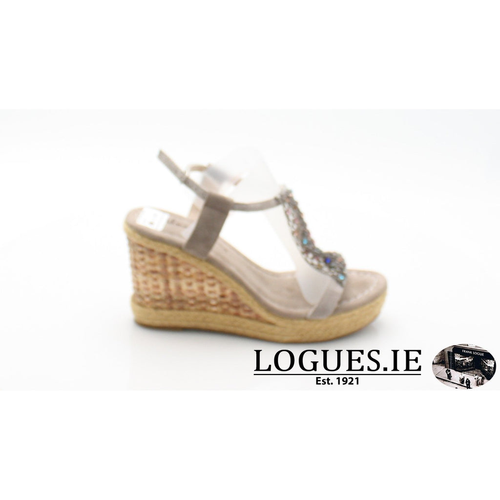 V18372 ALMA EN PENALadiesLogues ShoesSUEDE TAUPE / 37 = 4 UK