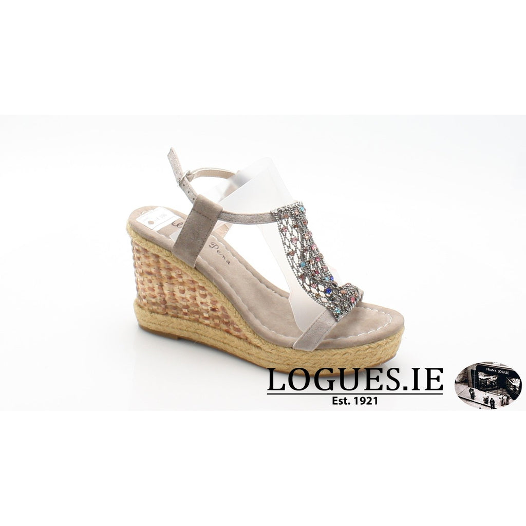 V18372 ALMA EN PENALadiesLogues ShoesSUEDE TAUPE / 38 = 5UK