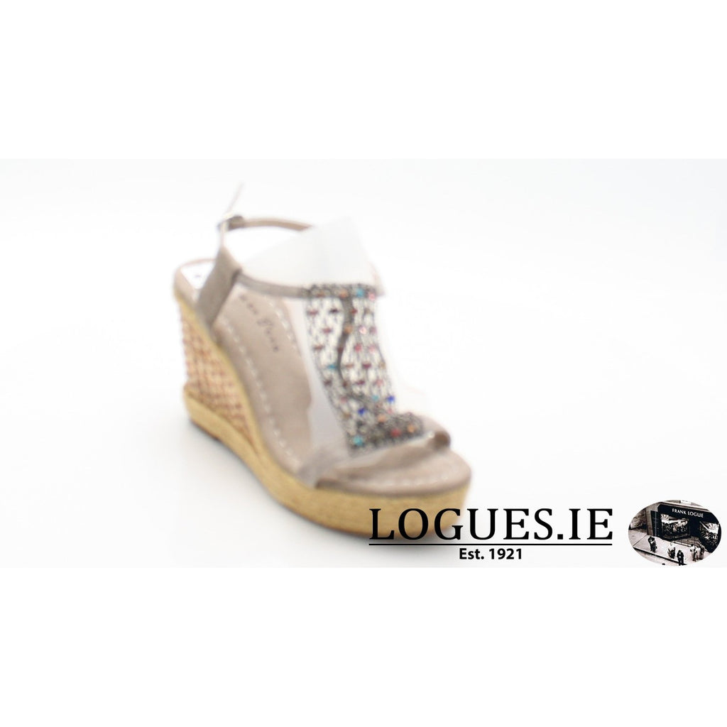 V18372 ALMA EN PENALadiesLogues ShoesSUEDE TAUPE / 39 = 6 UK