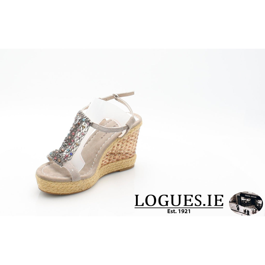 V18372 ALMA EN PENALadiesLogues ShoesSUEDE TAUPE / 40 = 6.5 UK