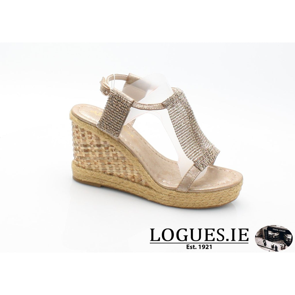 v18375  ALMA EN PENALadiesLogues Shoesoporto bronze / 42 = 8 UK