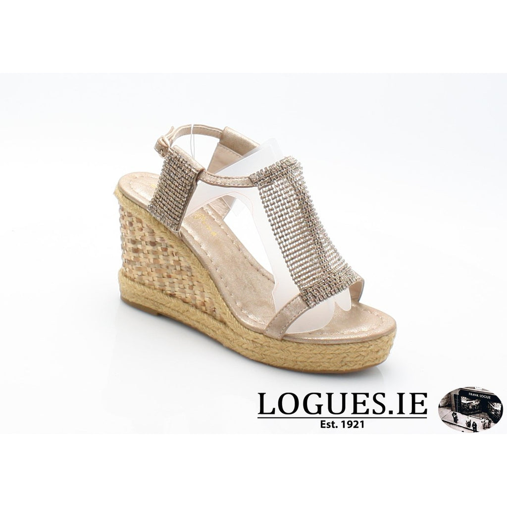 v18375  ALMA EN PENALadiesLogues Shoesoporto bronze / 37 = 4 UK