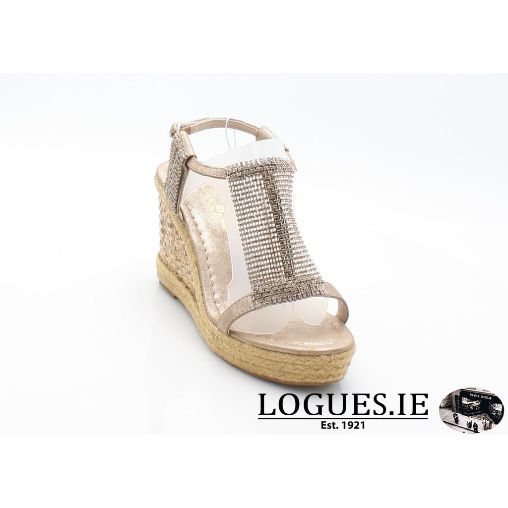 v18375  ALMA EN PENALadiesLogues Shoesoporto bronze / 38 = 5UK