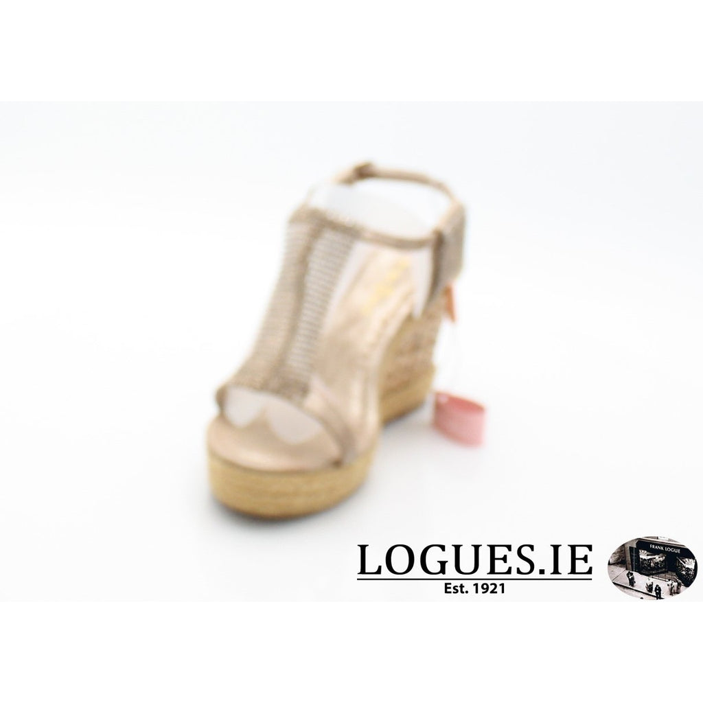 v18375  ALMA EN PENALadiesLogues Shoesoporto bronze / 39 = 6 UK